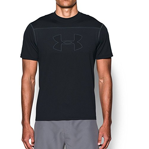 언더아머 Under Armour Mens UA Threadborne Rashguard Short Sleeve