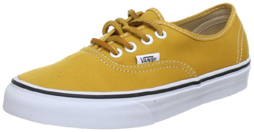 vans authentic gialle