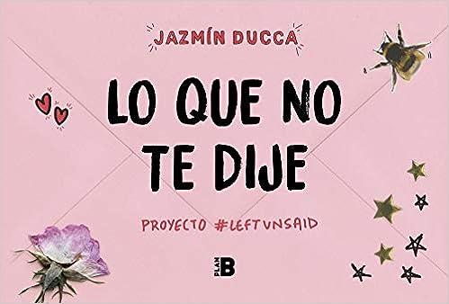 Lo que no te dije: #Proyecto Left Unsaid (Plan B): Amazon.es ...