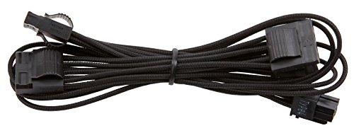 Corsair CP-8920193 Premium Individually Sleeved Peripheral Cable, Black, for Corsair PSUs