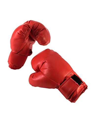(Forum Novelties 80571 Unisex-Adults Boxing Gloves, Red,)
