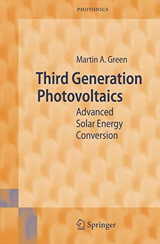 Third Generation Photovoltaics  Advanced Solar Energy Conversion  Springer Series In Photonics