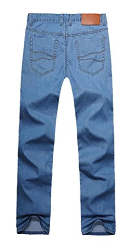 EMAOR Mens Big and Tall Denim Pants Straight Leg Jeans Plus Size by EMAOR Mens (Image #4)