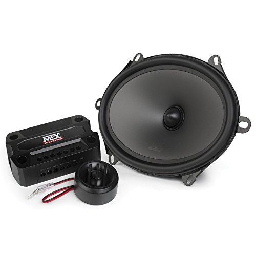 MTX Audio THUNDER681 Ohm Component Speaker - Set of 2