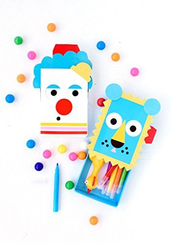 Creativity for Kids Handmade Charlotte Kids Big Top Mini Matchboxes