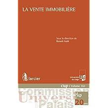 La vente immobilière (Commission Université-Palais (CUP)) (French Edition)