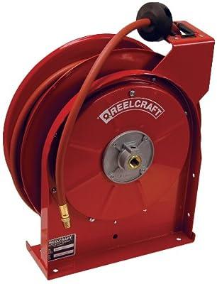 Dixon 5650 Gray Steel Hose Reel With Hose