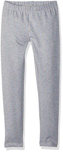 Gymboree Girls' Little Basic Sparkle Legging, Grey, M -