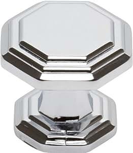 Atlas Homewares 319-CH Dickinson Polished Chrome 1.25-Inch Octagon Knob