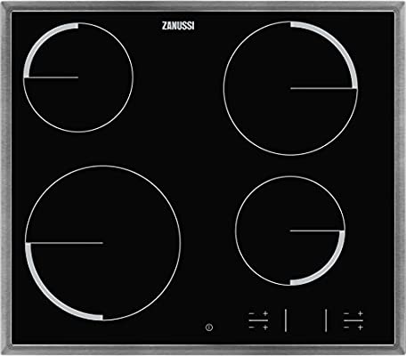 Zanussi - 4 hi-light, zona 21 cm 2300 w, marco inox, child ...