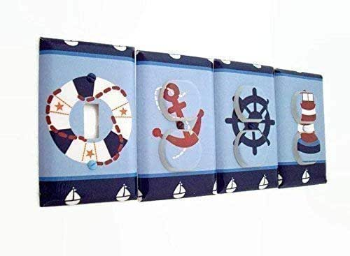 Amazon.com: Nautical Sail Away Light Switch Cover and