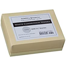 Communion Wafers, White Box Of 1000