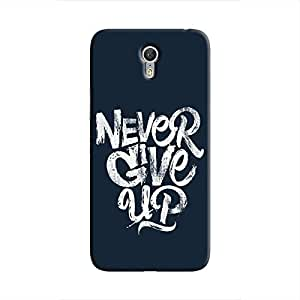 Cover It Up - Never Give Up Zuk Z1 Hard Case