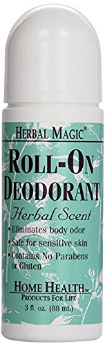 Herbal Magic Deodorant (Herbal), 3 oz (2 (Herbal Magic Deodorant)