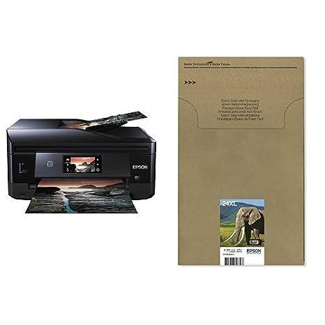 Epson Expression Photo XP-860 - Impresora multifunción de tinta (impresión WiFi y móvil), color negro + Cartucho Multipack XL envío facil