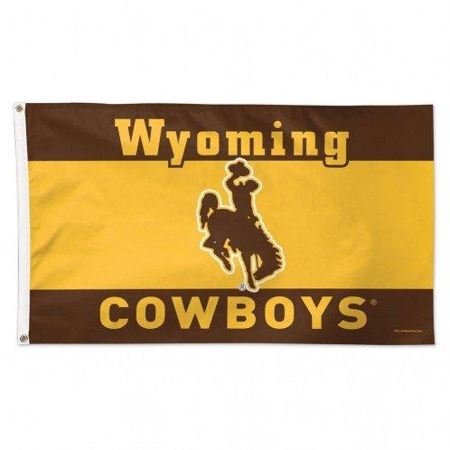 (WinCraft NCAA University of Wyoming Deluxe Flag, 3' x 5')