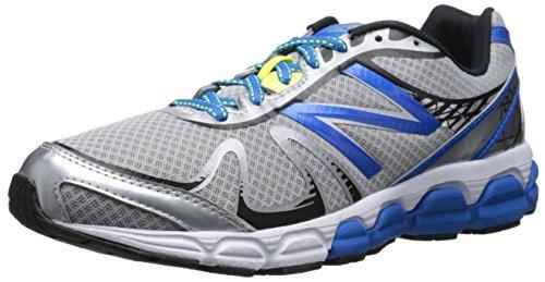 New Balance Men's M780V5 Running Shoe, Silver/Blue, 10 D US
