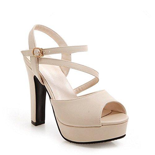 BAJIAN LI tal Verano el Alta Planas bajo Mujer Sandalias heelsWomen Sandalias Boho HHOrx4
