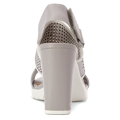 Clarks Artisan Pastina Malory Ljusgrå Läder