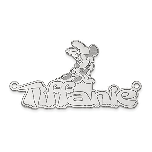 Jewelry Pendants & Charms Personalized 14kw Disney Nameplate ()