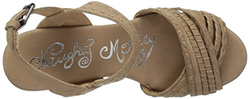 Calla Women Naughty Monkey Sandal Wedge Cream 4wgTwnqBUx