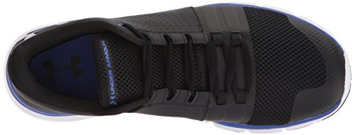 Under Armour Men's Strive 7 Sneaker Black (004)/Jupiter Blue cheap sale latest collections mZuqyIQ