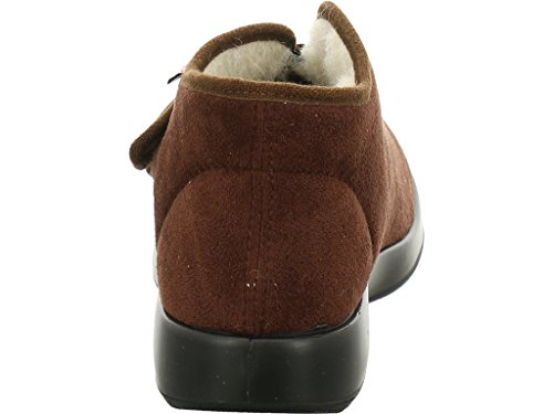 Florett Genua mocca Softvelour Größe 46 Braun (dunkel-braun)