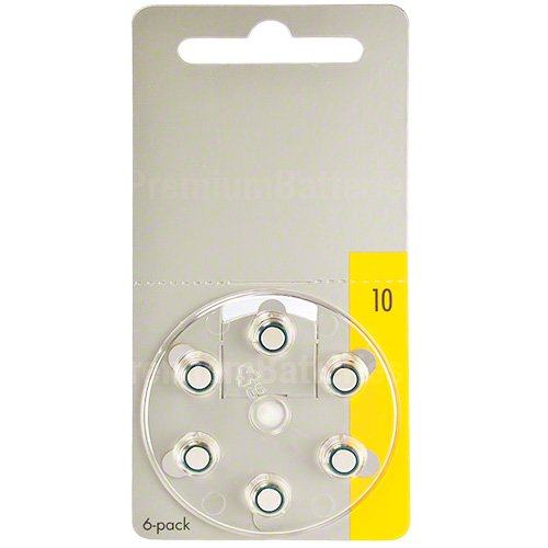 Power Special Made in Germany Zinc Air Hearing Aid Batteries Size 10, P10, S10 (120 Cells)
