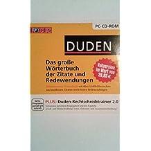 Focus Duden (das große Wörterbuch der Zitate und Redewendungen)