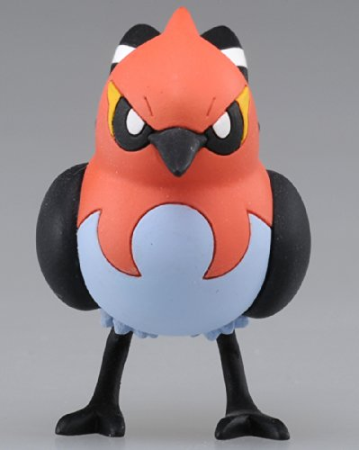 Pokemon-Monster-Collection-Mc-039-Fletchinder-Hinoyakoma-2-Tall