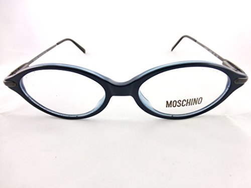 Moschino Eyeglasses Frame, Black & Blue , Mod. M3531 (Moschino Womens Eyeglasses)
