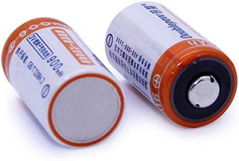 gfjfghfjfh 2 Teile//los 900 mAh CR2 Akku Set Lithium-Batterie DC 3,6 V Mit Schnellladeger/ät Mehrere Schutzsysteme