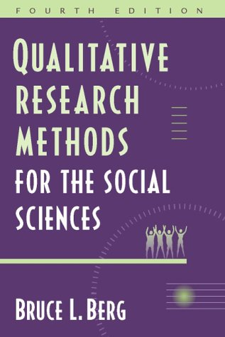 qualitative research methods for social sciences This book offers the most comprehensive coverage of qualitative techniques of any book on the market today and does it in a way that is easy to read and follow the author's central purpose remains a desire to instruct inexperienced researchers in ways of effectively collecting, organizing, and making sense of qualitative data, while stressing the importance of ethics in research and in taking.