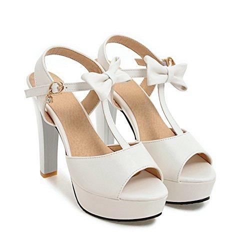 White 35 ASL05195 Bianco Ballerine Donna BalaMasa Igw8FBqR