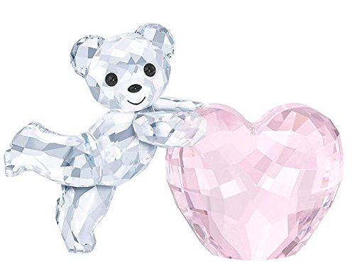 Kris Bear - Pink Heart Figurine -