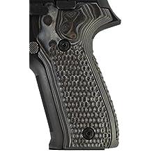 Hogue Sig P226 Piranha G10 G-Mascus Grip, Black/Grey