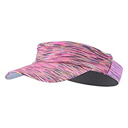 Leezo Women Men Run Sun Visor Outdoor Running Empty Top Hat Sport Visor Cap Ultralight Quick Dry Camping Hiking Anti UV Caps