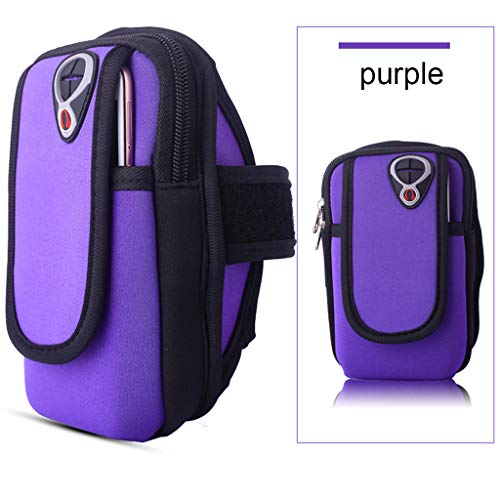 DDKK backpacks Waist Pack with Water Bottle Holder for Running Walking Hiking Runners-Jogging Gym Arm Band Holder Bags Mobile Phones Keys Pack