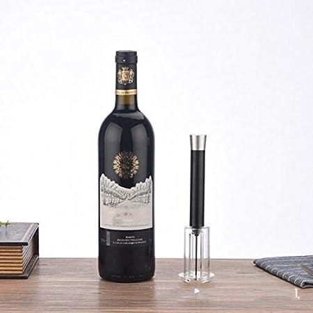 Presión De 4 Piezas De Vino Abridor De Vino Bomba De Aire del Abrelatas, La Botella De Vino del Corcho Removedor Herramienta De La Bomba Kit Sacacorchos con Aireador De Vino Pourer, Tapón De Vacío