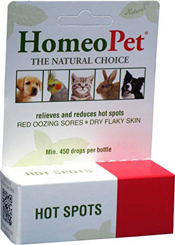 Homeopet - Hot Spots Drops 15 ml