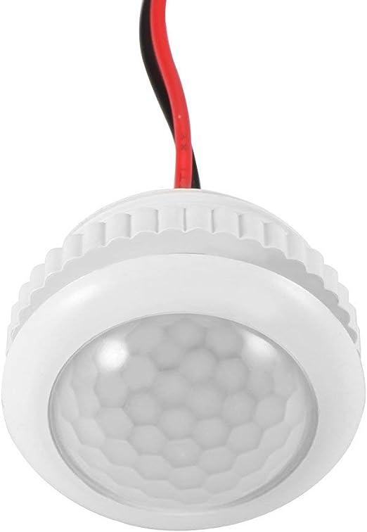 ONEVER Sensor inteligente PIR Interruptor de sensor de movimiento Interruptor de luz con sensor de luz 110-240V para luces LED Lampara incandescente: Amazon.es: Iluminación