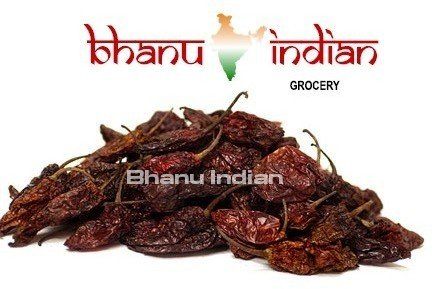 - Bhanu Dried Whole Smoked Ghost Chile (Bhut Jolokia) 28.35 Grams / 1 Oz (20-25 Pods)