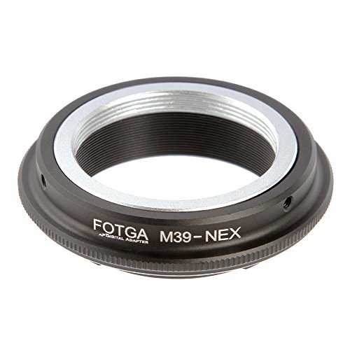 Lens Mount Adapter for Leica L39 M39 Lens to Sony E-Mount Sony Alpha a7 a7S a7R a7II a7SII a7RII A7III A7RIII A7SIII A9 a6500 a6300 a6000 a5100 a5000 a3500 NEX3 ()