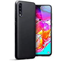 Black Silicone Case for For Samsung galaxy A70 - A70s