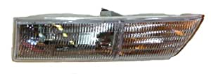 OE Replacement Mercury Cougar Driver Side Headlight Assembly Composite (Partslink Number FO2502164)