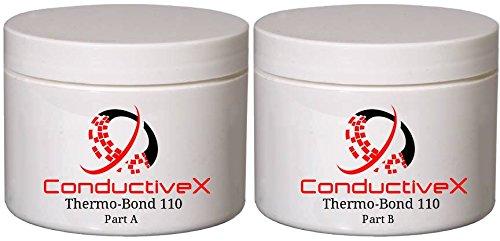 Térmica conductiva eléctrica aislante térmica baja expansión adhesivo epoxi adhesivo, thermo-bond 110 Kit