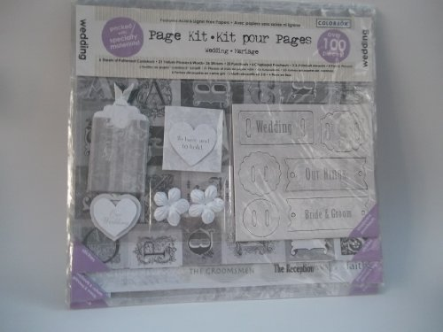 Colorbok - Wedding Page Scrapbook Kit -  - Wedding Page Kit Shopping Results