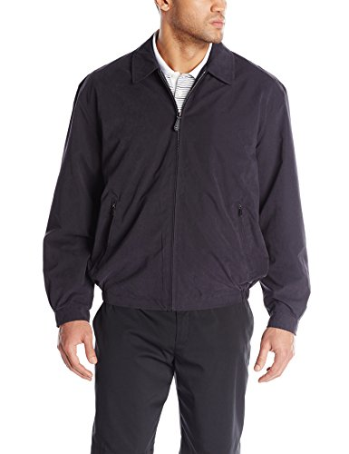 London Fog Men's Tall Auburn Golf Jacket, Navy, 2 (Auburn 2 Light)