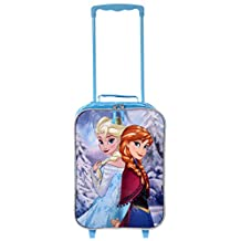 Disney Frozen Girls' Soft Side Rolling Suitcase with Extendable Handle