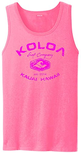 Koloa Vintage Arch Logo Tank Tops in Adult Sizes: S-4XL